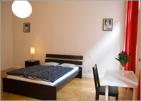 pictures of apartment in budapest